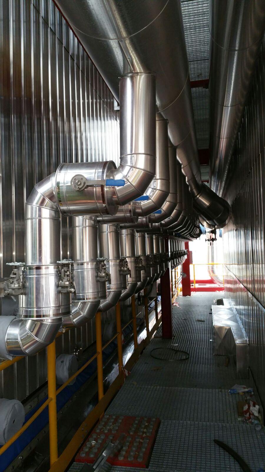 Montaggi Industriali - Lavori -    CENTRALE A2A DI MONFALCONE (GO) - montaggi industriali