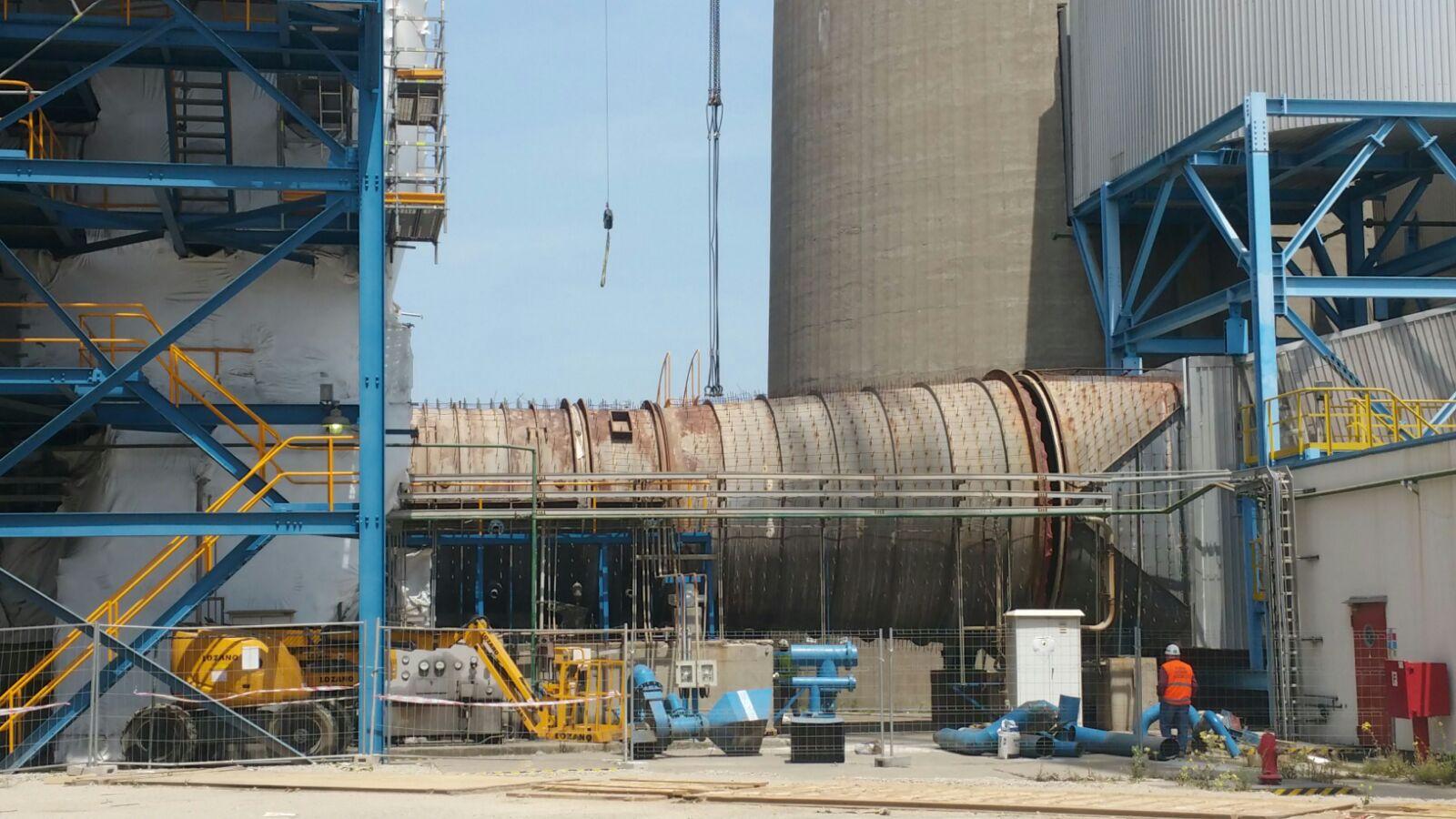 Montaggi Industriali - Lavori -    CENTRALE VIESGO DI LOS BARRIOS (CADIZ) - SPAGNA - montaggi industriali