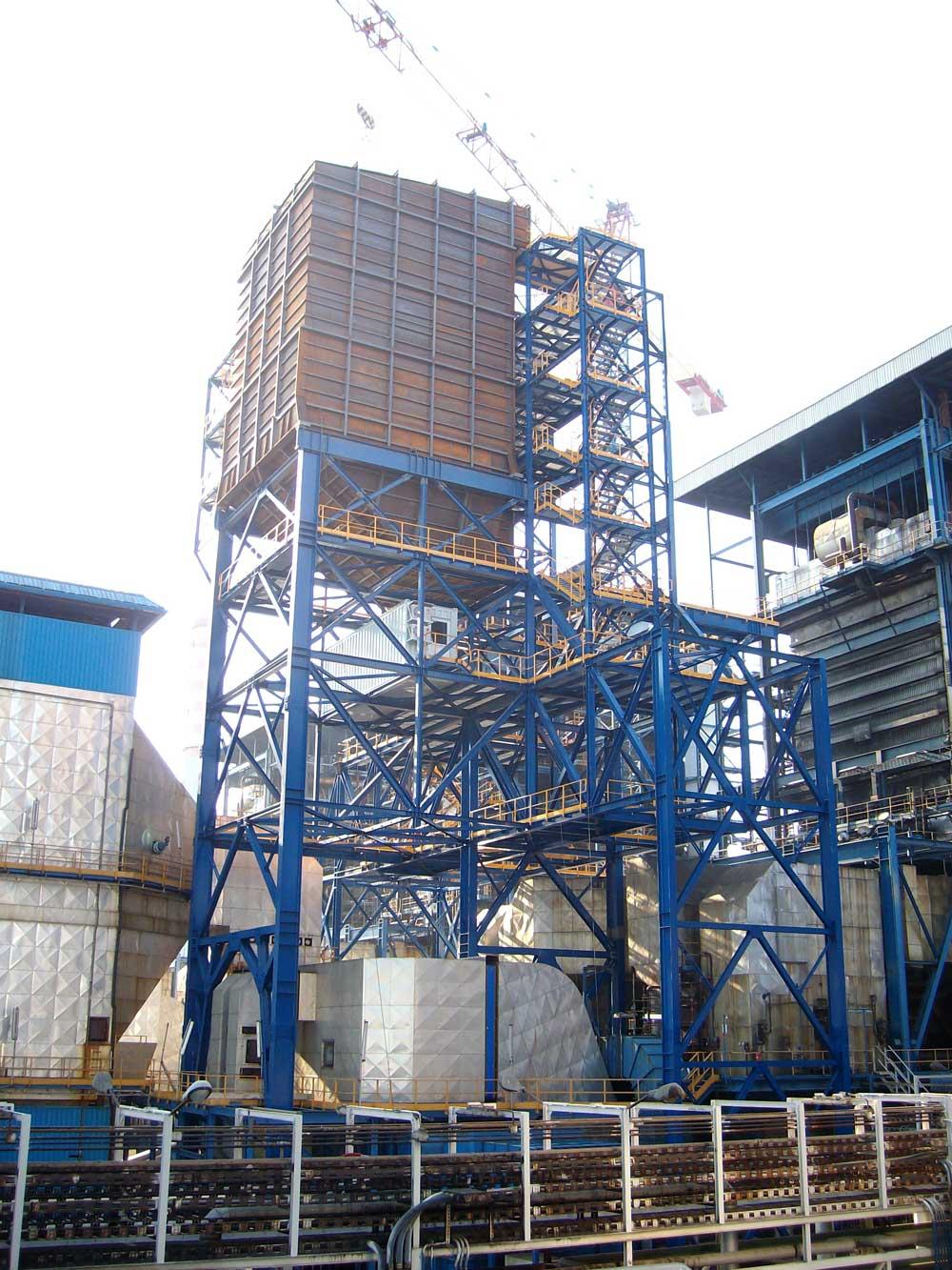 Montaggi Industriali - Lavori - C.TE EDIPOWER DI SAN FILIPPO DEL MELA - montaggi industriali