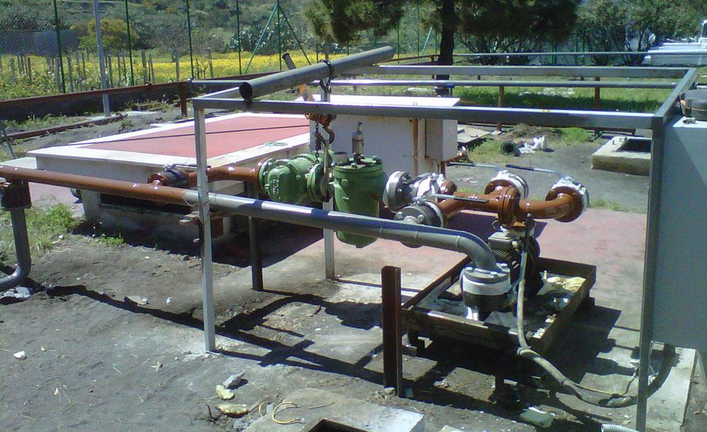 Montaggi Industriali - Lavori -    CENTRALE ENEL DI VULCANO (ME) - montaggi industriali